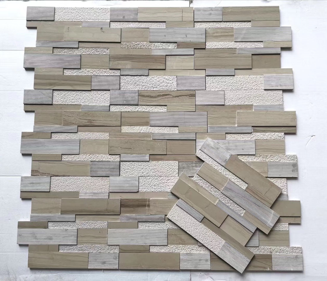Chinese Marble Culture Stone for Walling