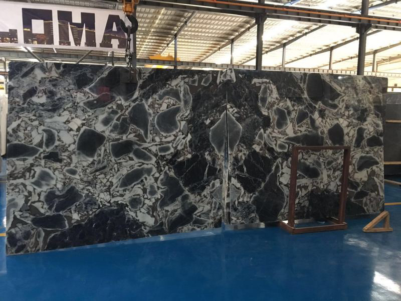 Chinese Marble Slabs Guangxi Galaxy Blue Marble Slabs