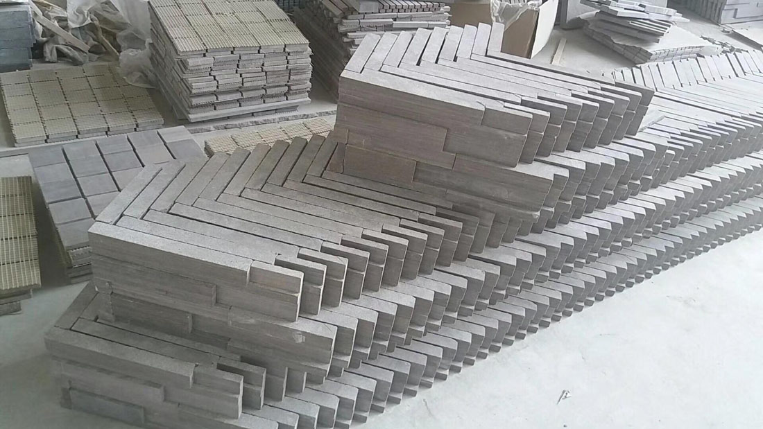 Chinese Mauve Sandal Wood Sandstone Cultural Stone