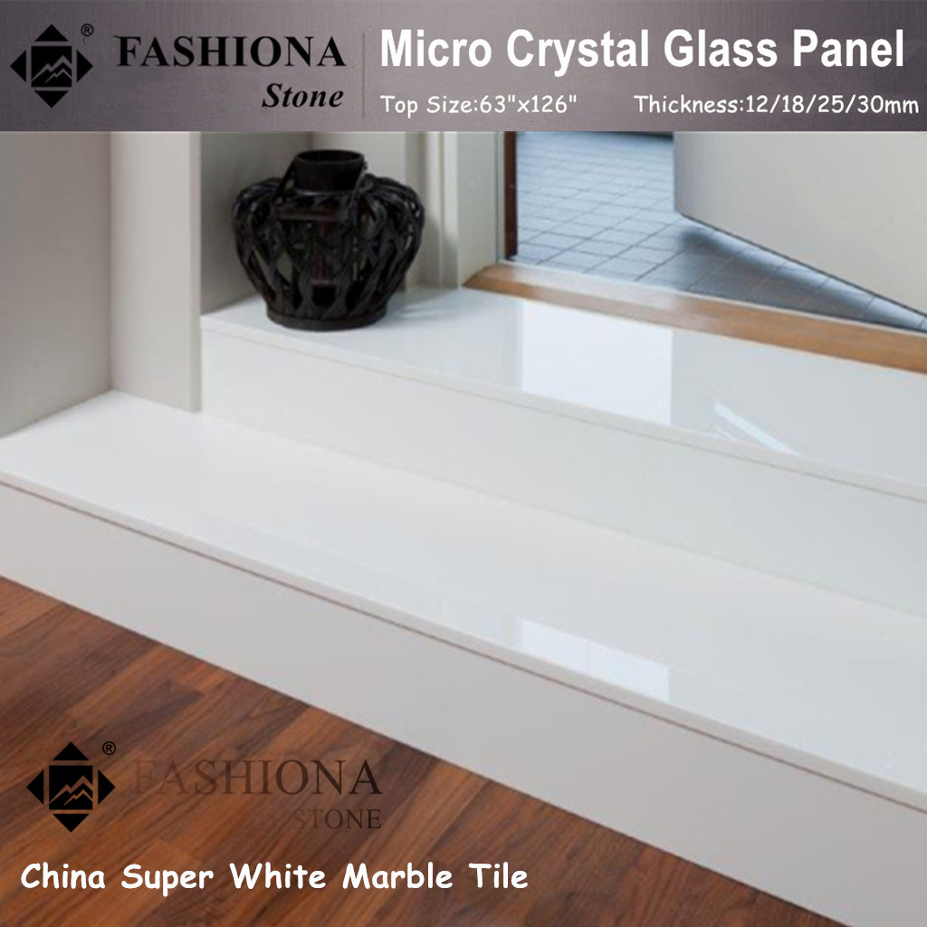 Chinese Micro Crystal Glass Stone Stair