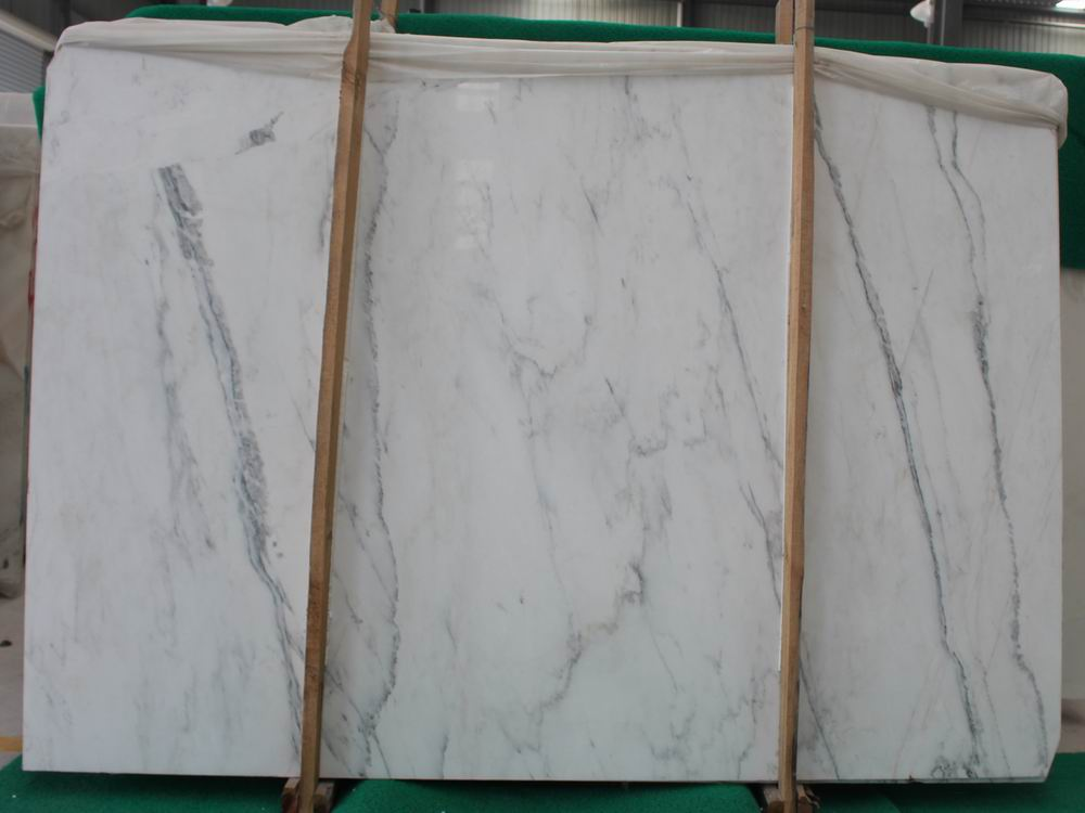 Chinese Oriental White Marble Slabs with Top Quality