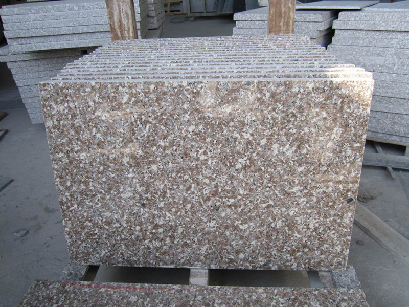 Chinese Pink G648 Granite Tiles for Paving