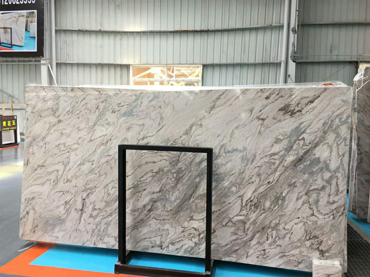 Chinese Polished Fantasy Sand Marble Slabs