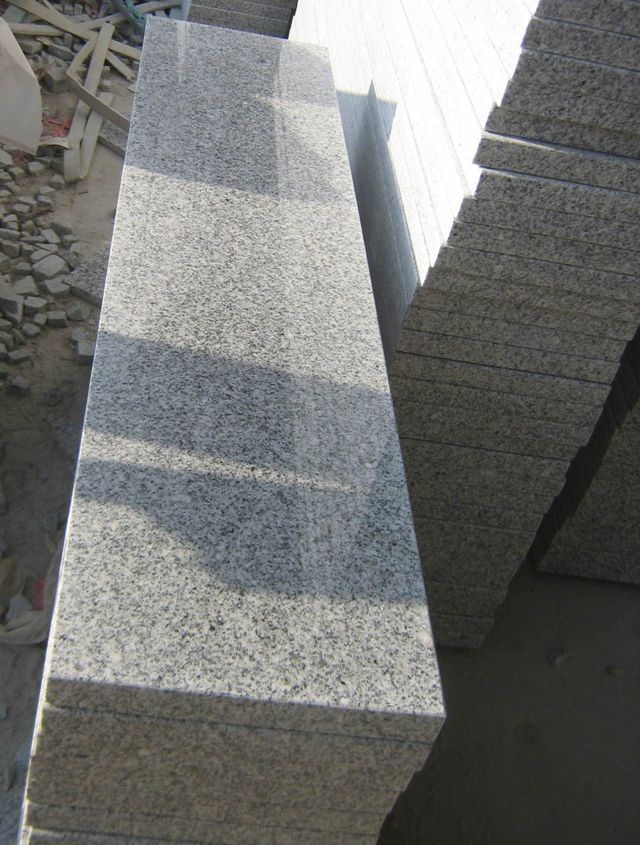 Chinese Polished G603 Granite Stair