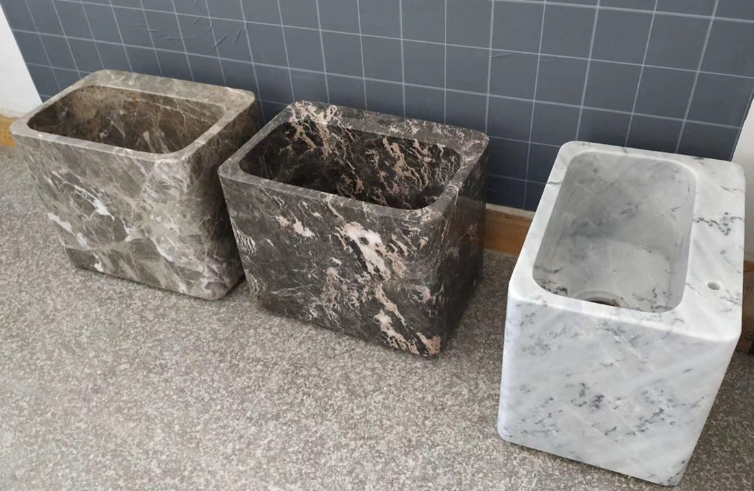 Chinese Polished Marble Stone Sinks