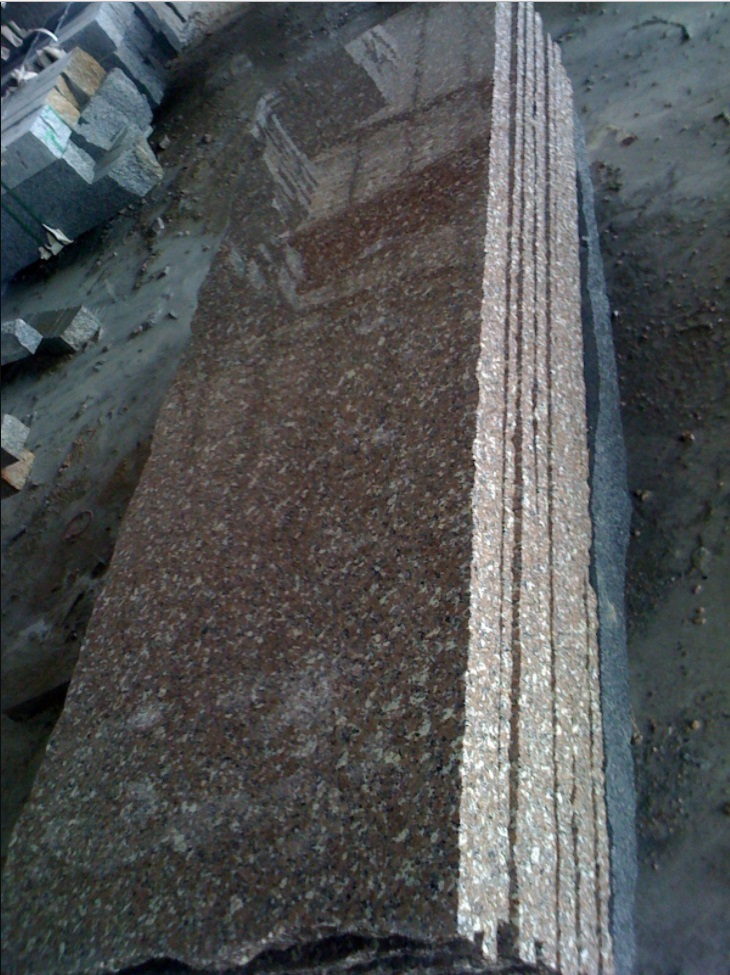 Chinese Polished Red Granite Countertops