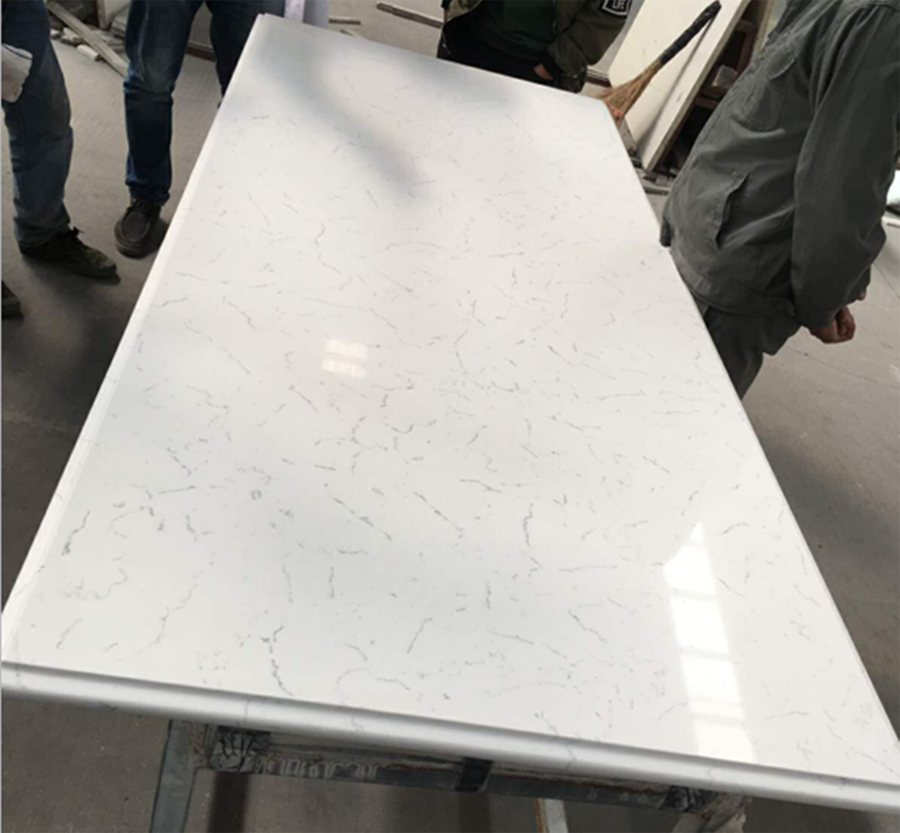 Chinese Quartz Carrara Artificial Stone