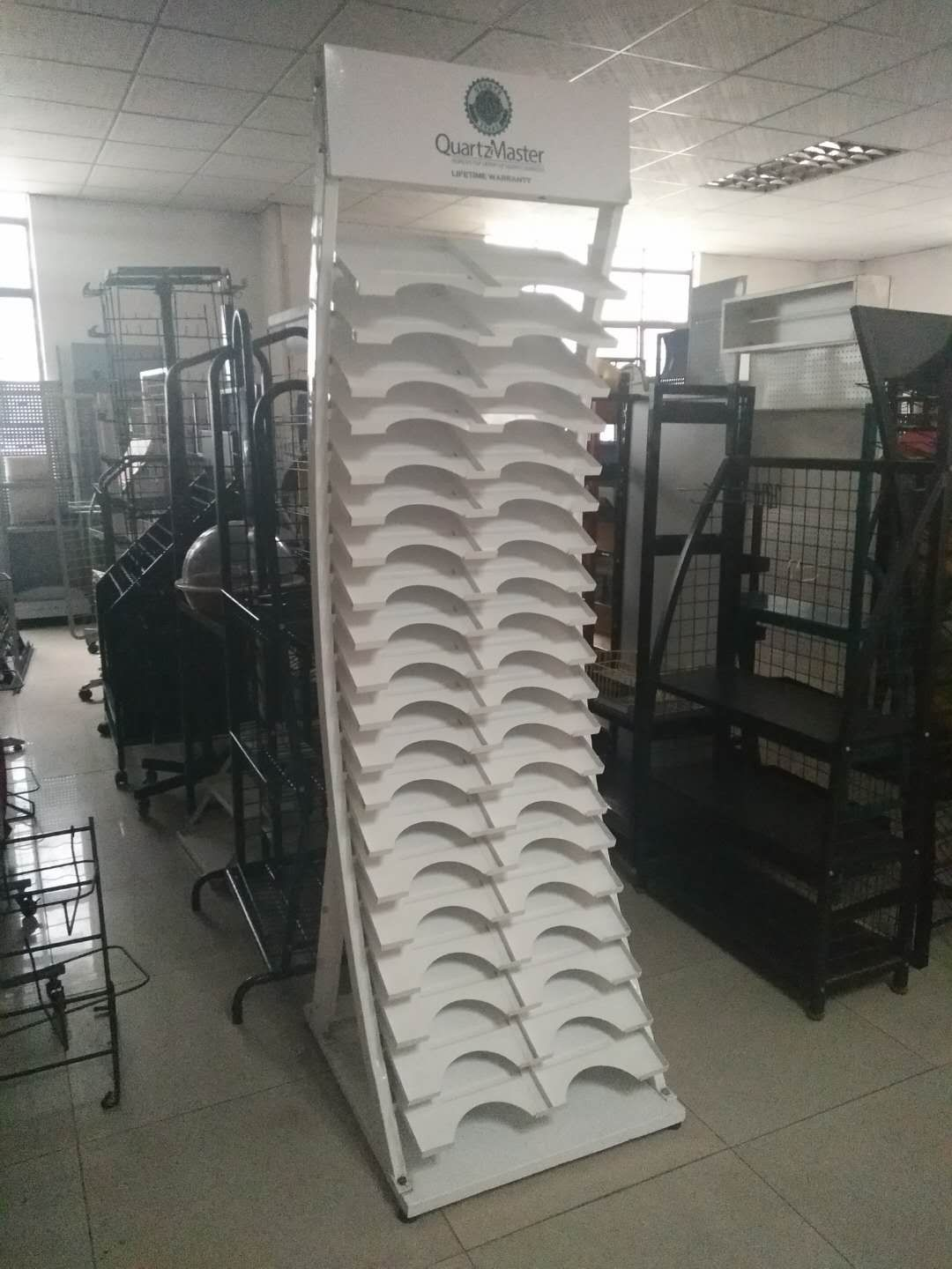 Chinese Quartz Display Racks