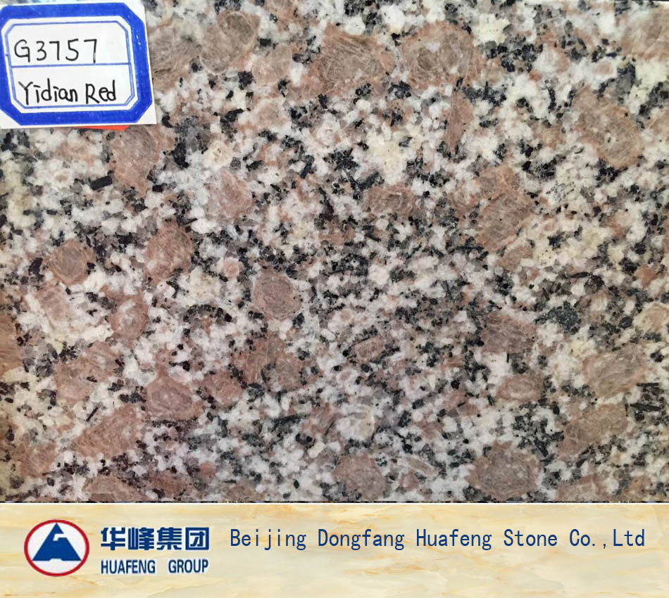 Chinese Red Stone Slabs and Floor Tiles