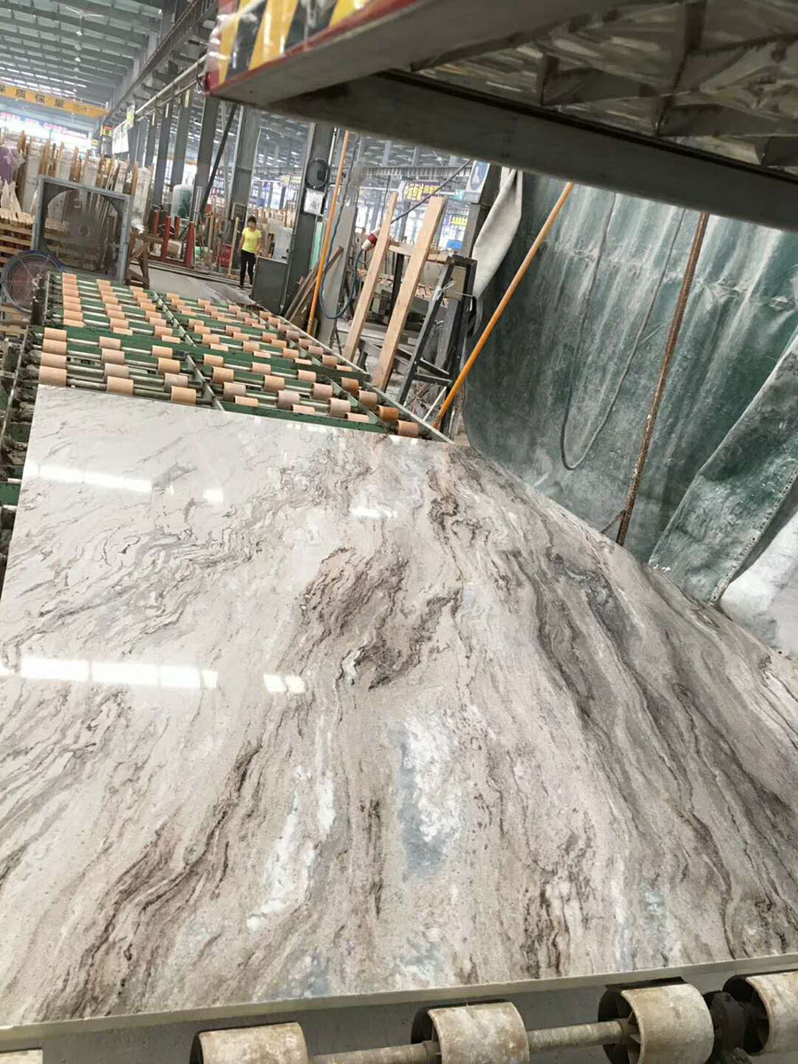 Chinese Rome Impression Marble Slabs
