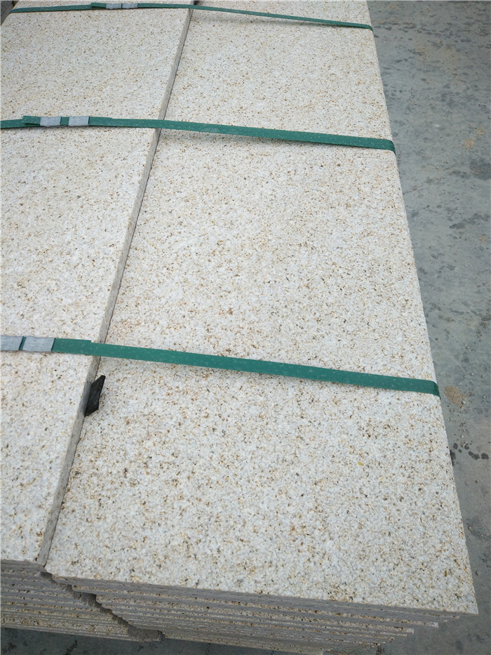 Chinese Shijing Rusty Granite Stone Stairs and Steps