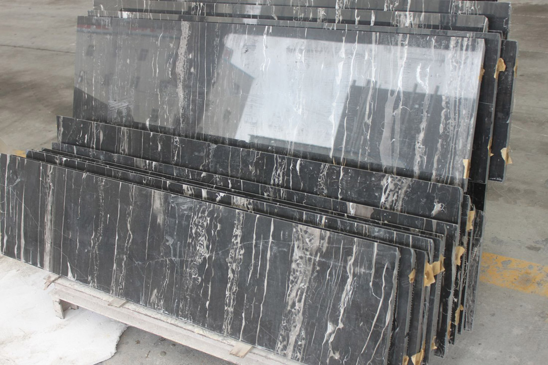 Chinese Silver Dragon Marble Slabs for Kitchen Countertops