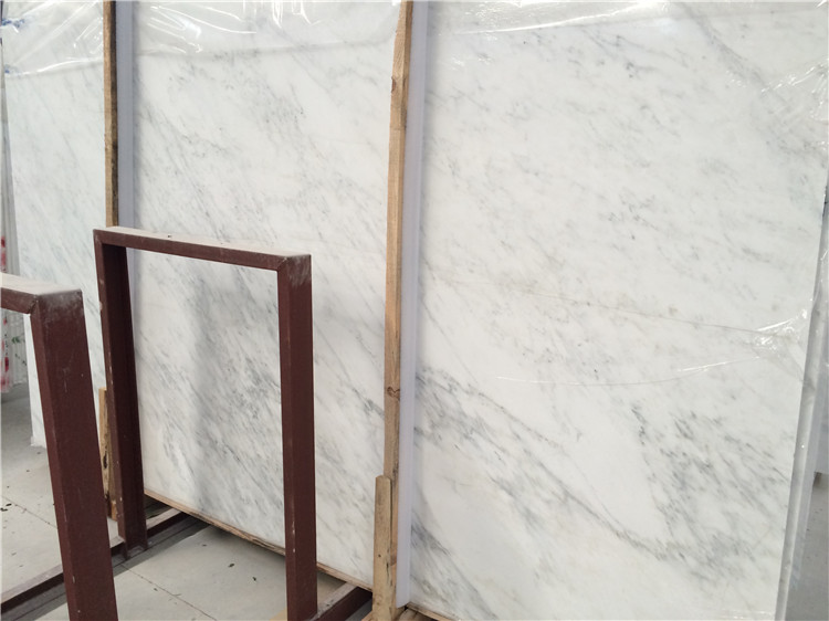 Chinese Snow White Marble Slabs Affordable White Polished Marble
