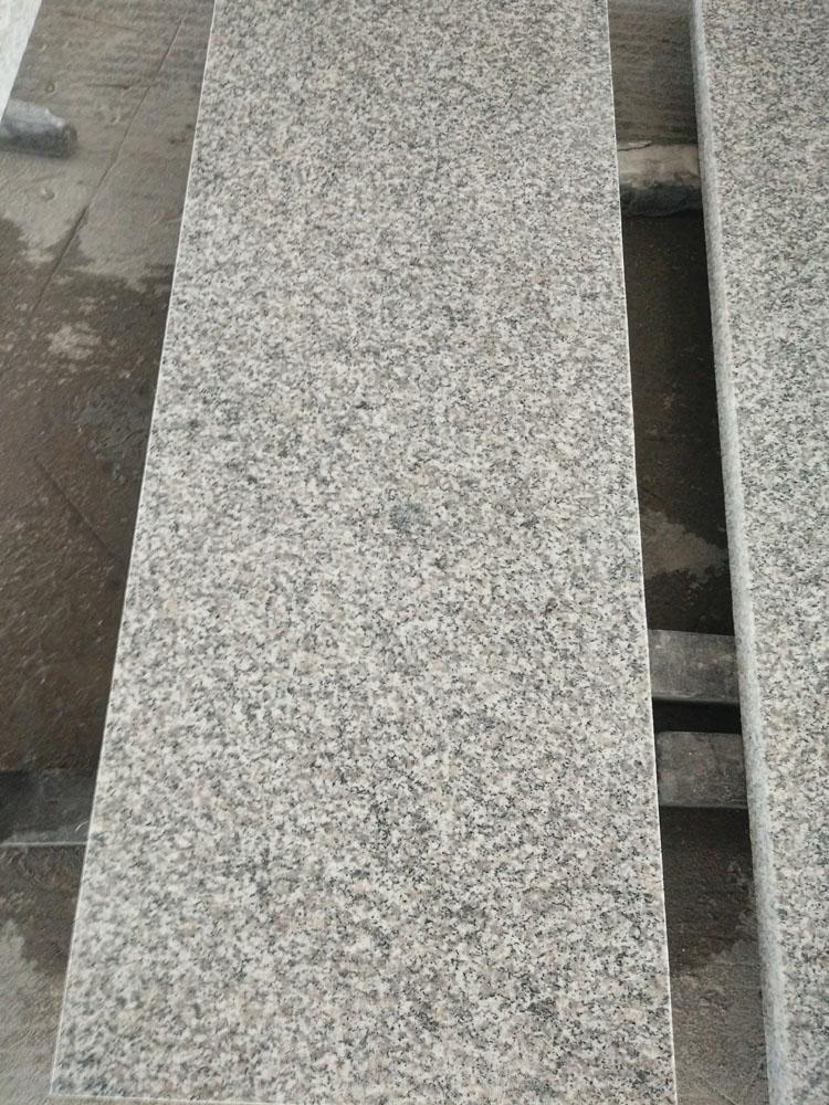 Chinese Swan White Granite Stairs and Steps