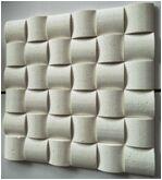 Chinese White Crema Marble Mosaic