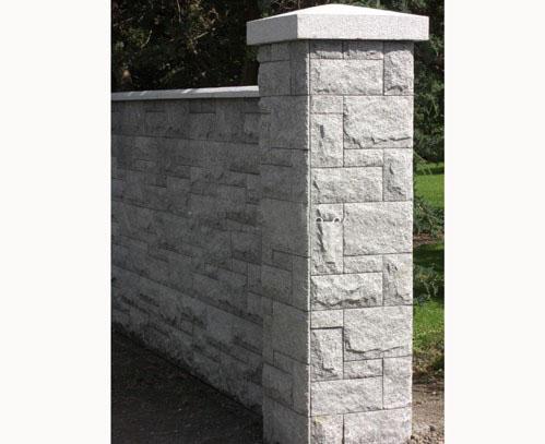 Chinese White Granite Wall Stone