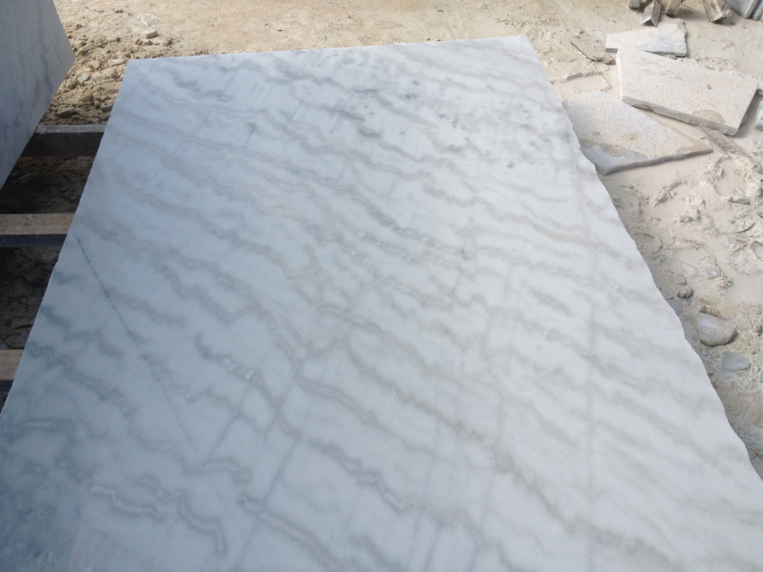 Chinese White Marble Guangxi White Marble Slabs