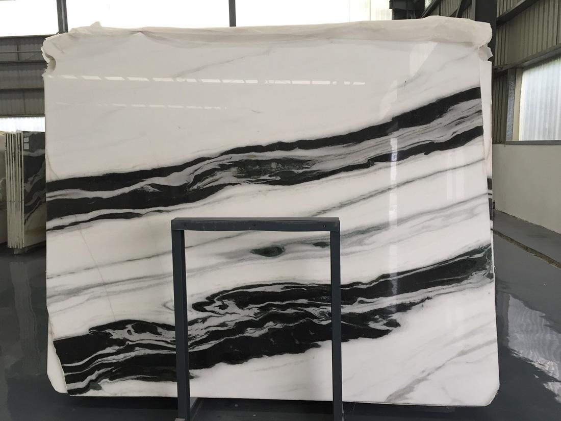 Chinese White Marble Panda White Marble Slab