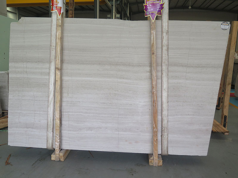 Chinese White Marble Slabs White Wooden Marble Slabs