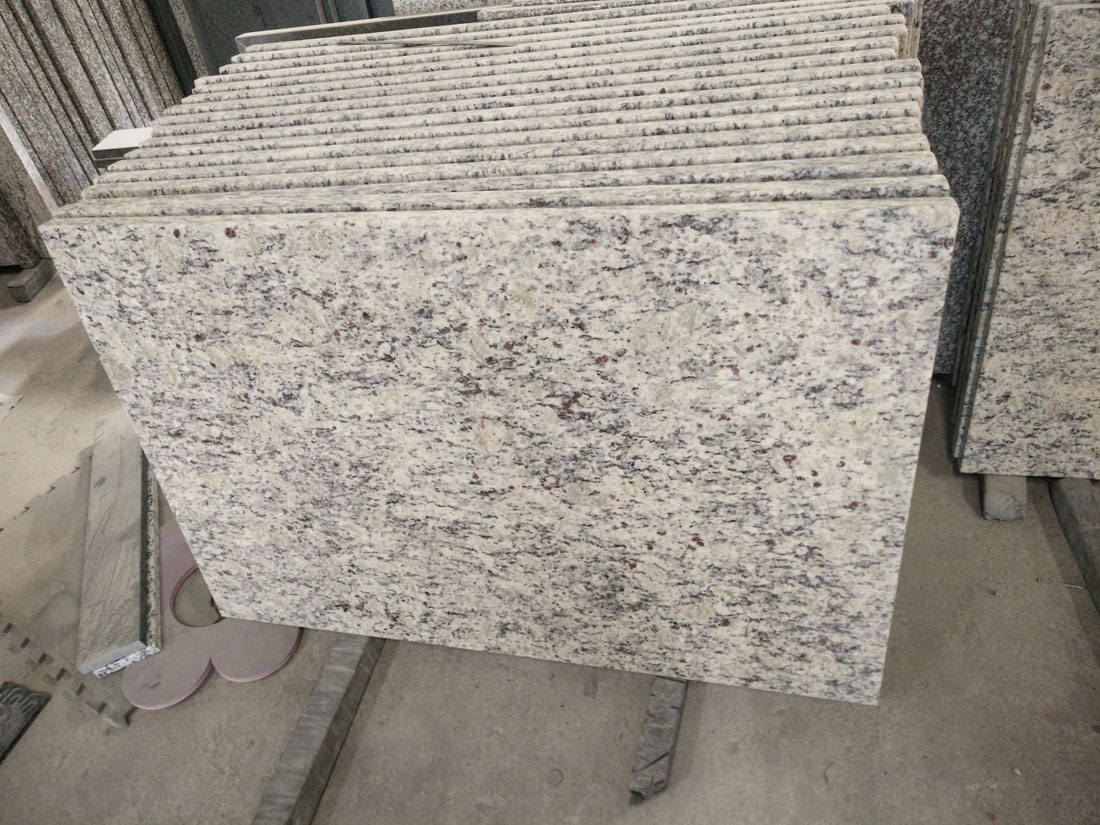 Chinese White Polished Granite Countertops for Kitchen and Bathroom