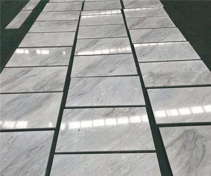 Chinese White Polished Marble Tiles for Flooring