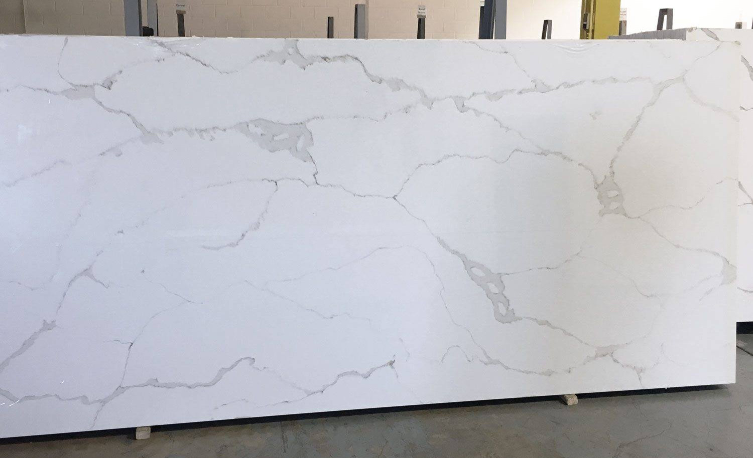 Chinese White Quartz Slabs for Kitchen Countertops
