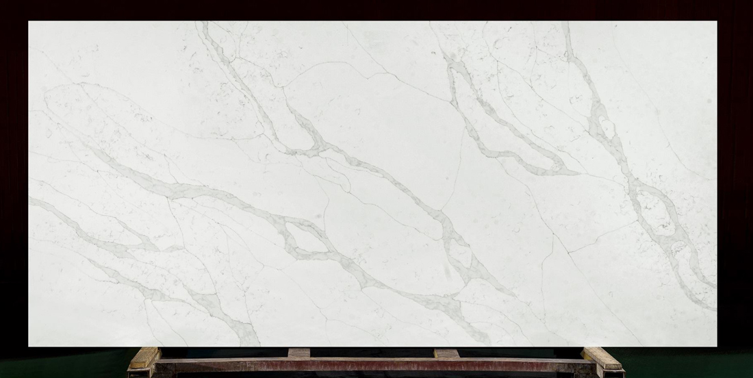 Chinese White Quartz Stone Slab for Countertops