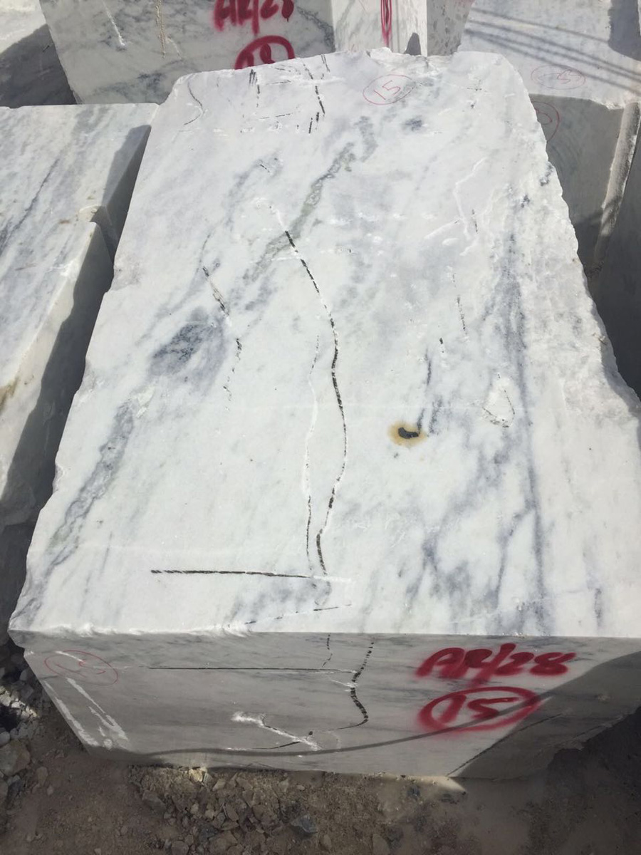 Chinkara White Granite Block