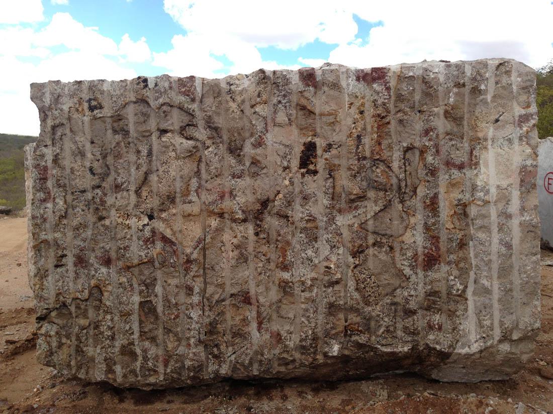 Chocolate Brown Granite Blocks
