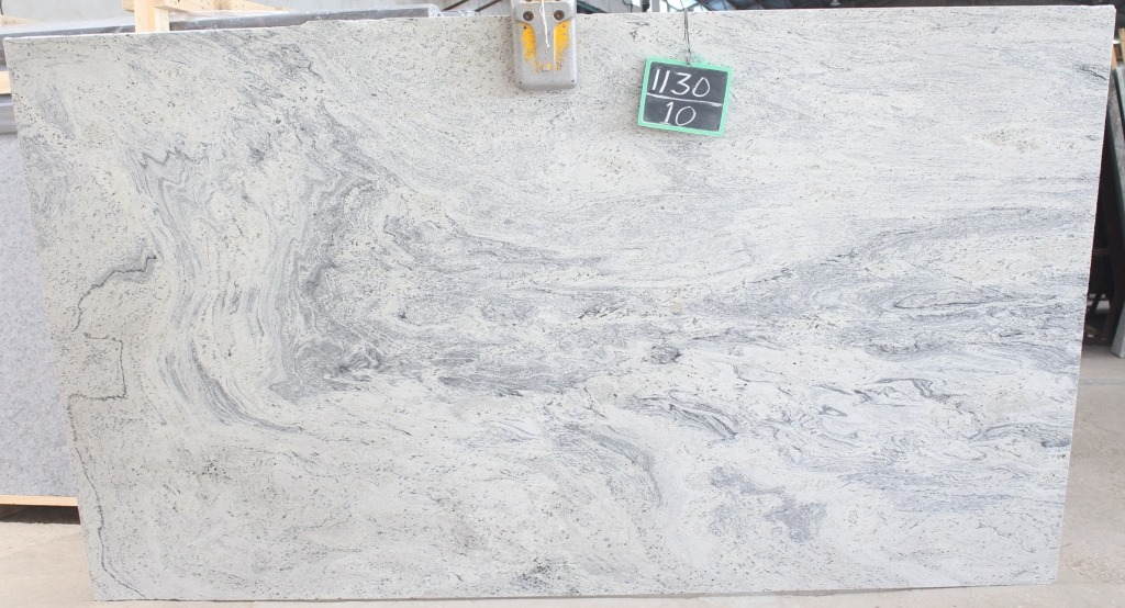 Caspian White Granite Slabs White Polished Granite Slabs