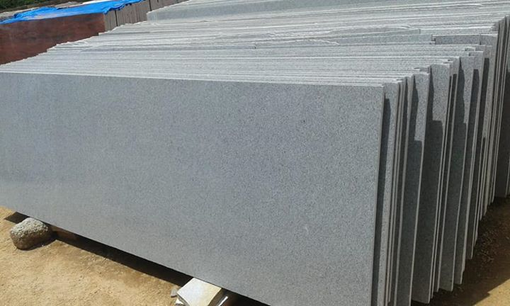 Cira Grey Granite Slabs for Kitchen Countertops