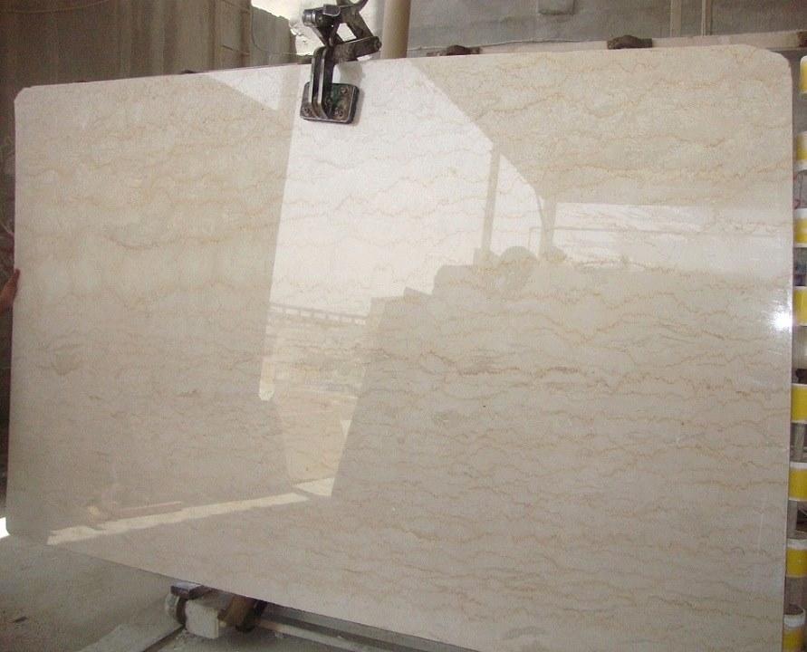 Classic Beige Polished Slabs Beige Marble Slabs