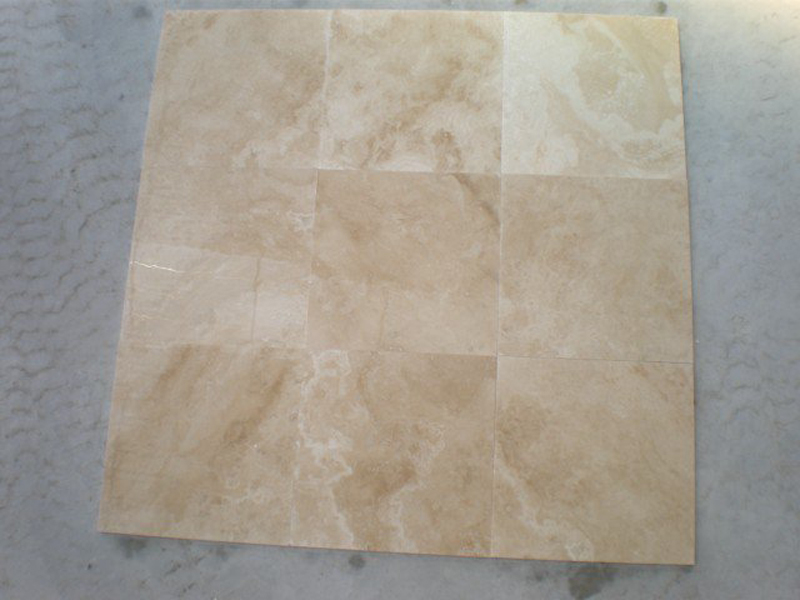 Classic Light Travertine Tiles Yellow Travertine Stone Tiles