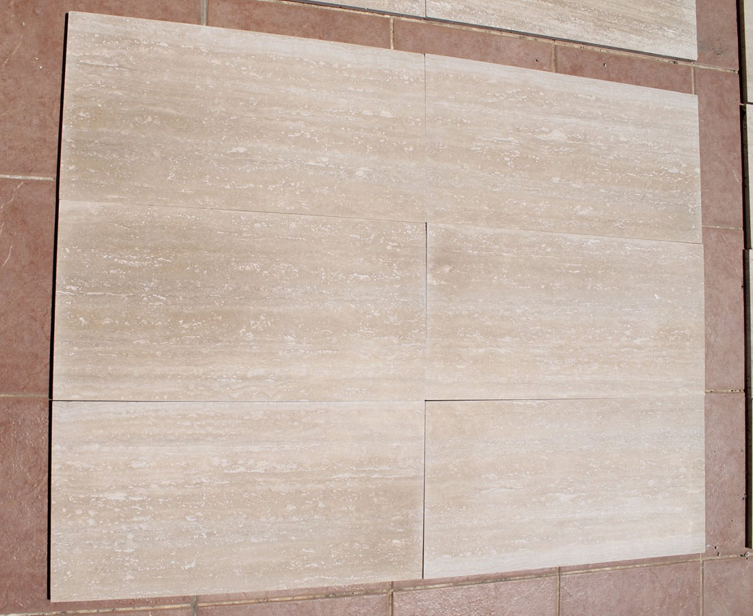 Classic Light Travertine Tiles for Flooring