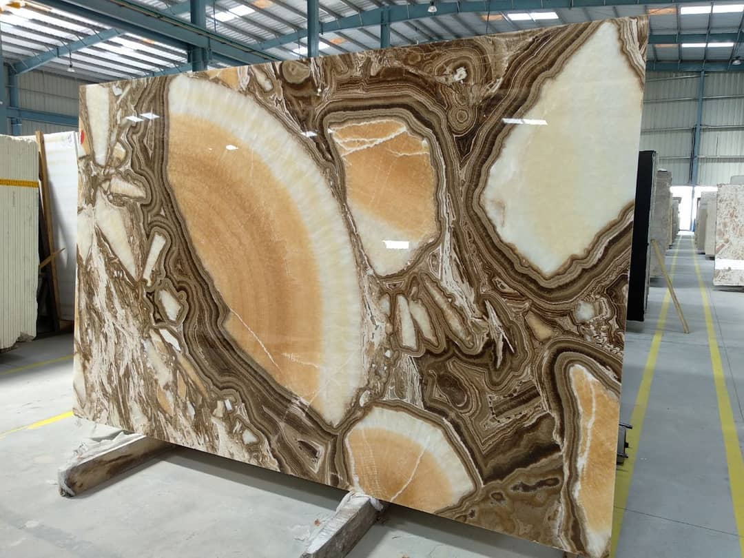 Classic Onyx Slabs Polished Onyx Slabs from India Supplier