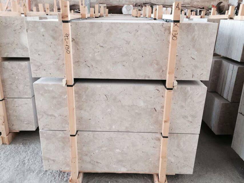 Classic Perlato Italian Beige Marble Tiles