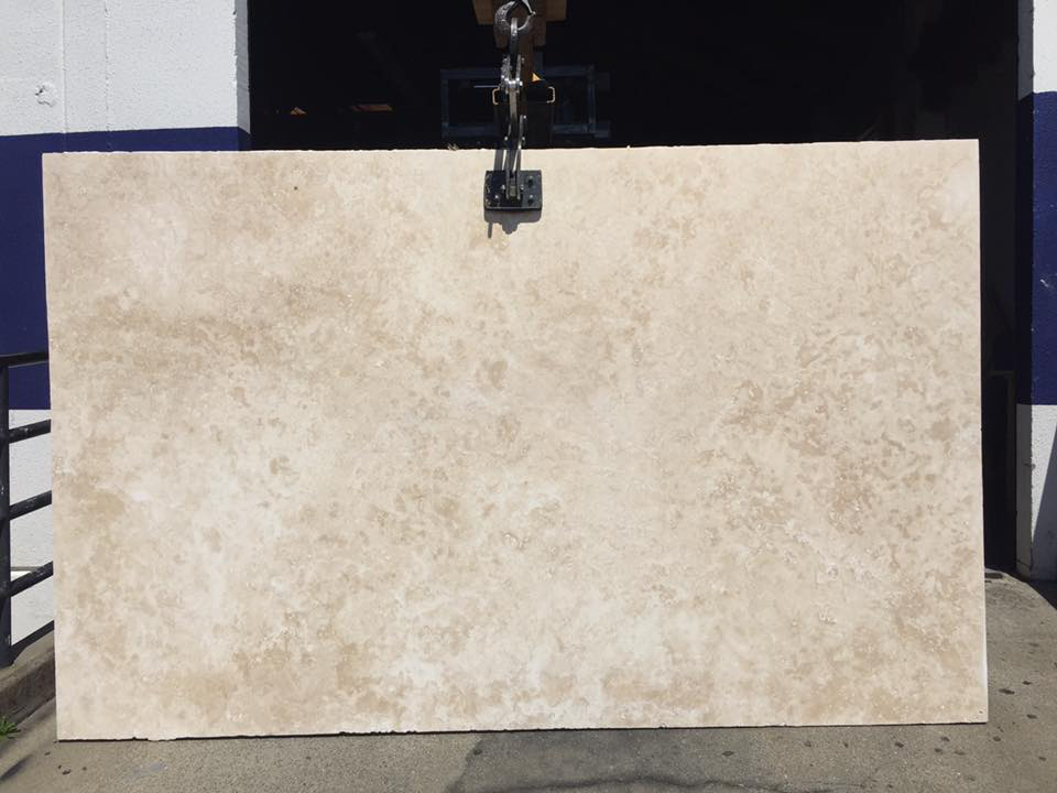 Classic Travertine 3cm Beige Honed Travertine Slabs