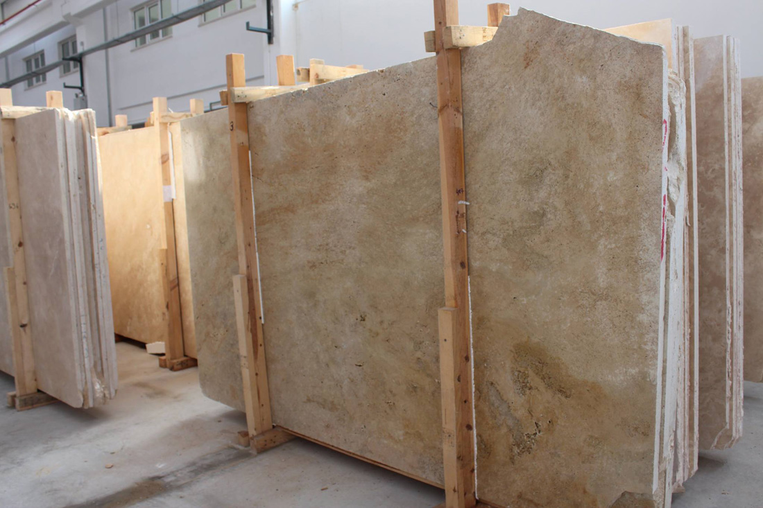 Classic Travertine Slabs Beige Travertine Slabs