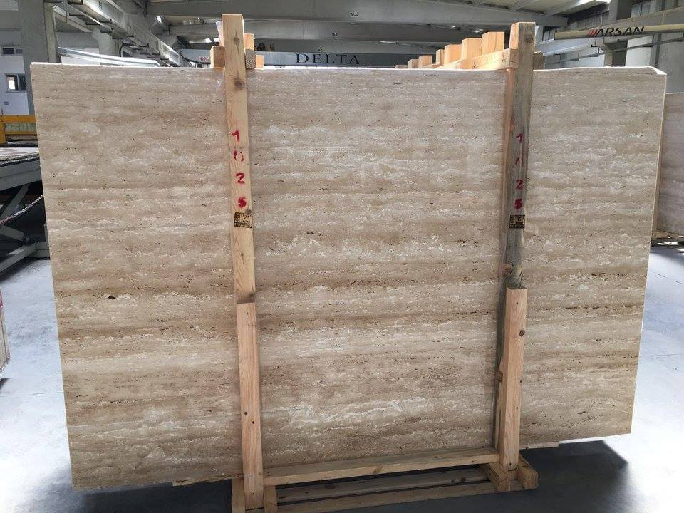 Classic Travertine Veincut Beige Natural Stone Slabs