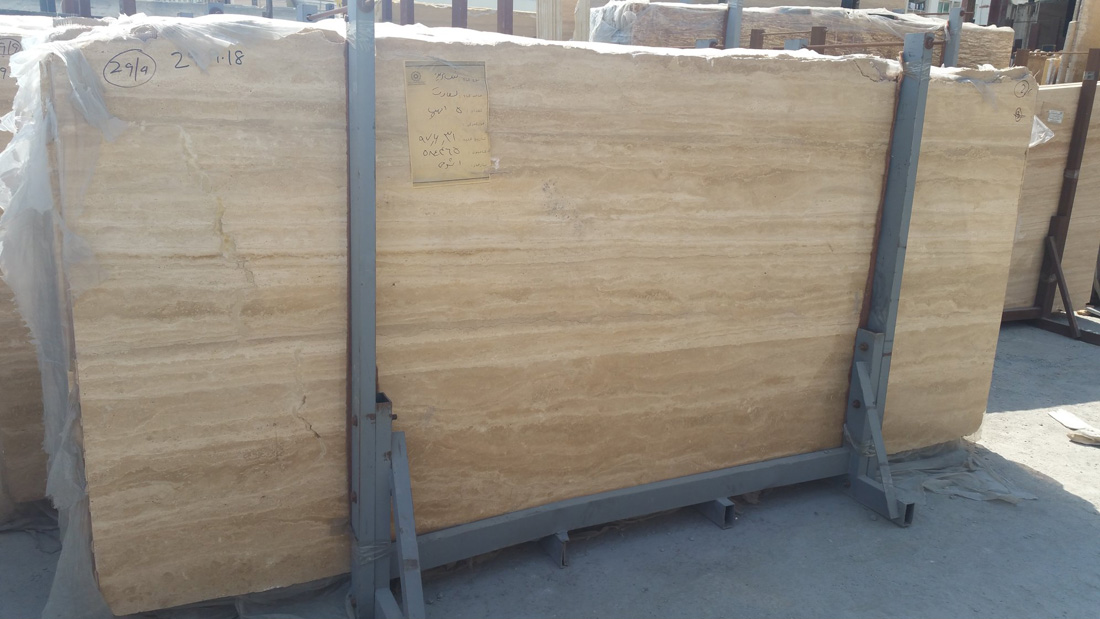 Classico Beige Travertine Slabs Polshed Beige Stone Slabs