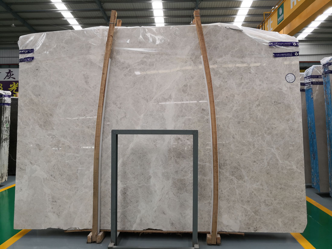 Cloud Dora Ash Fume Moonstone Grey Marble Slabs