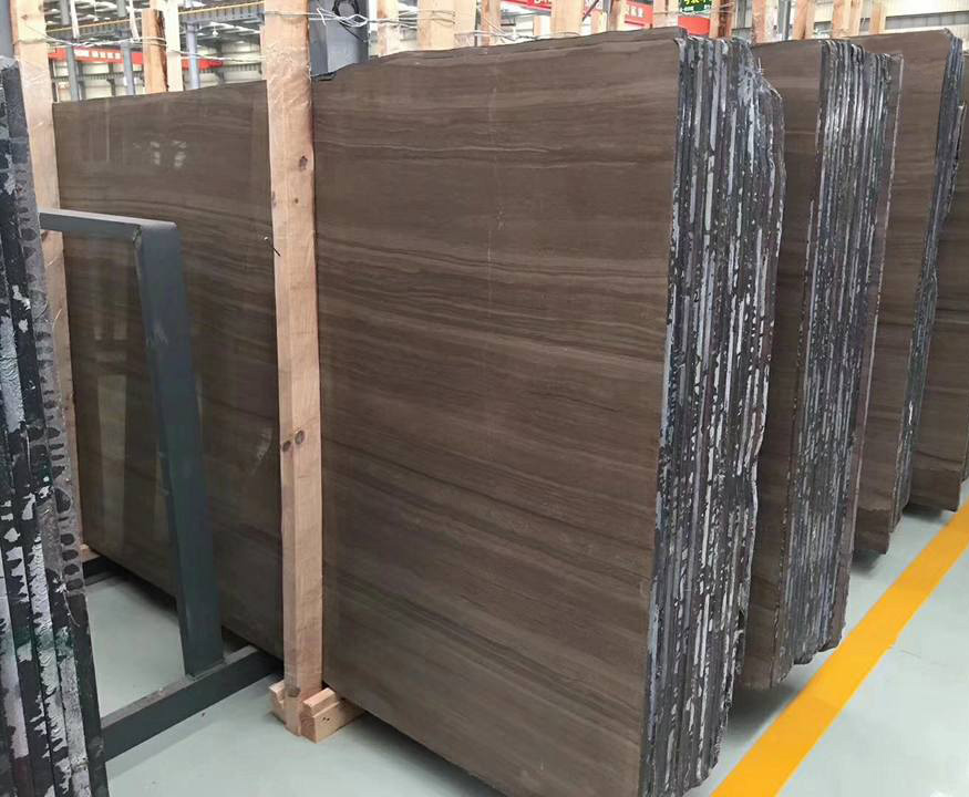 Coffee Brown Marble Slabs with High Quality