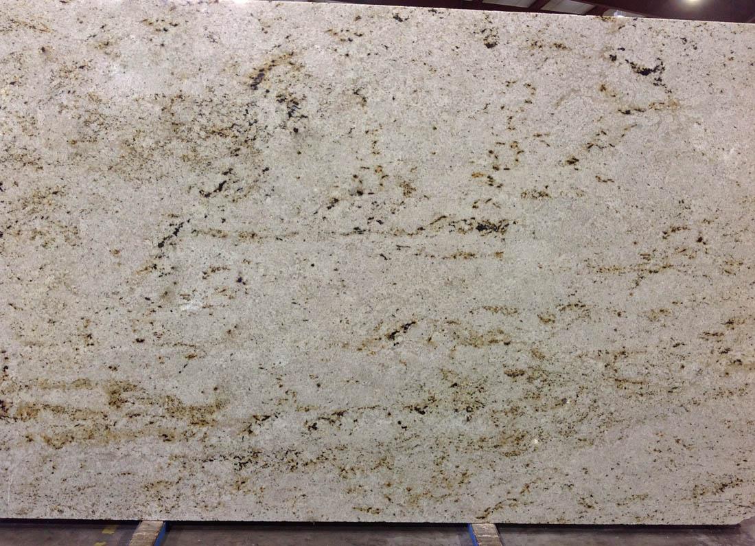 Colonial Cream Granite Slabs Polished Indian White Granite Slabs