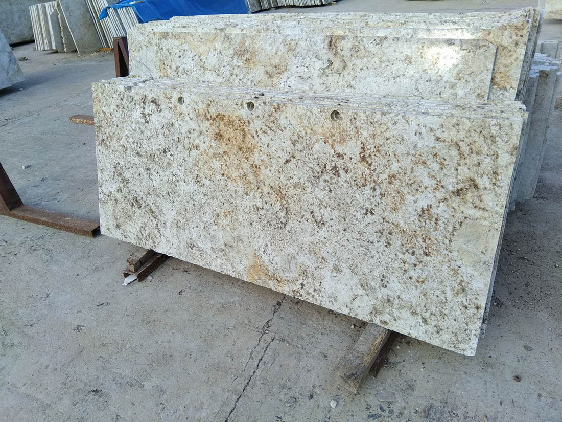 Colonial Gold Granite Slabs Polished Granite Slabs