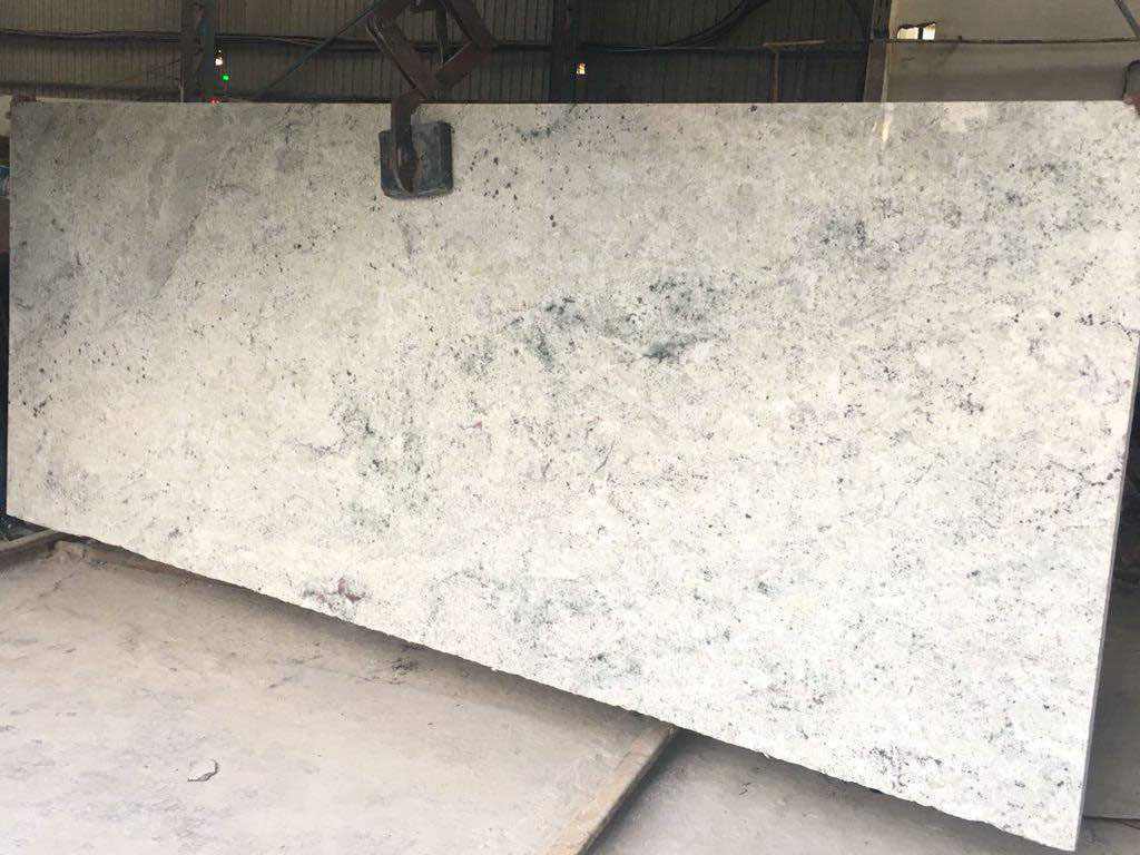Colonial White Granite Polished Slabs