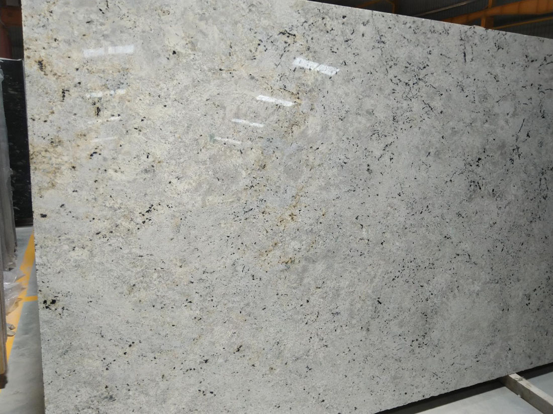 Colonial White Granite Slabs Polished Granite Slabs
