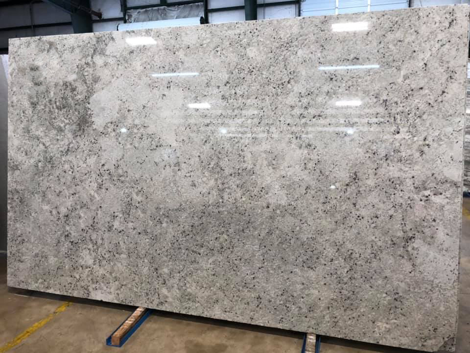 Colonial White Slabs Indian Polished Granite Slabs
