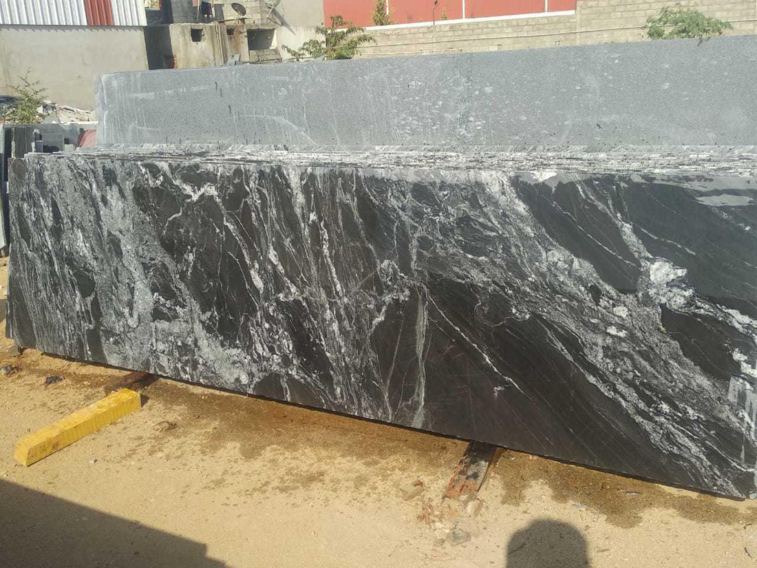 Competitive Black Forest Granite Slabs for Countertops
