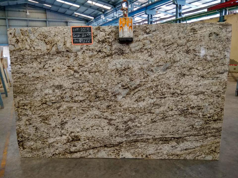 Competitive Blue Dune Polished Granite Slabs 3cm