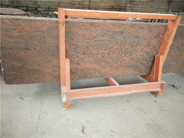 Competitive India Multicolor Red Granite Polished Countertops